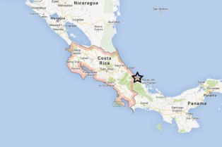 Costa-Rica-Google-Map-with-star